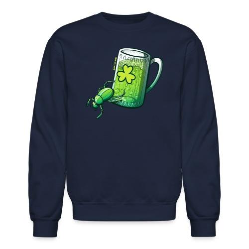 Saint Patrick's Day Beetle - Crewneck Sweatshirt