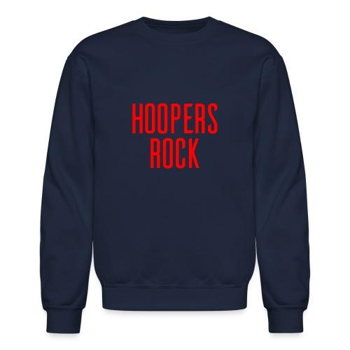 Hoopers Rock - Red - Unisex Crewneck Sweatshirt