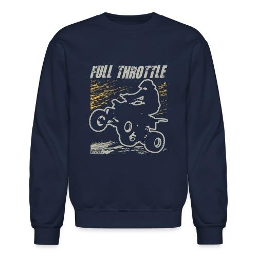 ATV Quad Full Throttle - Crewneck Sweatshirt