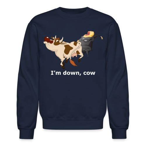 down cow wh - Crewneck Sweatshirt