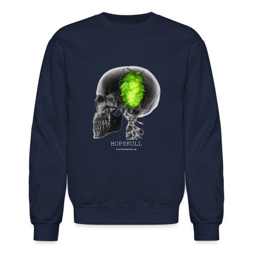 HOPSKULL T-Shirt (Double Sided) - Crewneck Sweatshirt