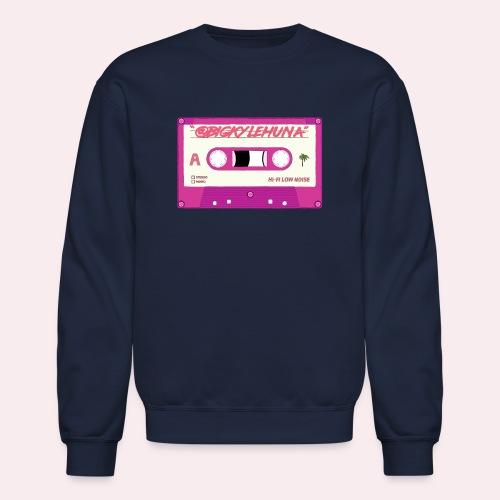 Retro Cassette Logo - Crewneck Sweatshirt