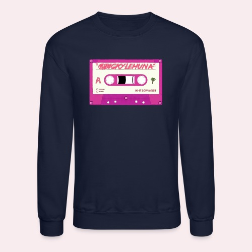 Retro Cassette Logo - Unisex Crewneck Sweatshirt
