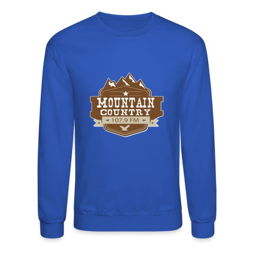 Mountain Country 107.9 - Unisex Crewneck Sweatshirt