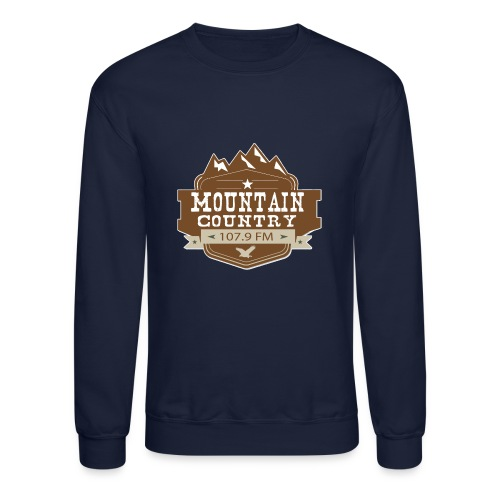 Mountain Country 107.9 - Crewneck Sweatshirt