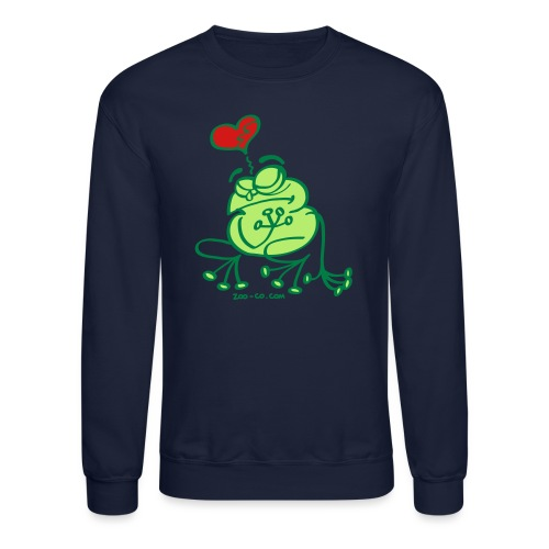 Broken Hearted Frog - Unisex Crewneck Sweatshirt