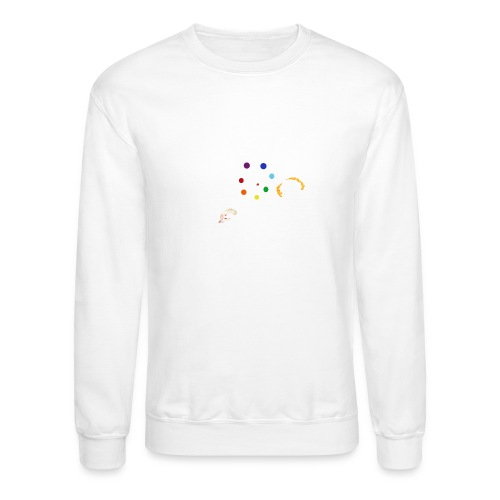 You Know You're Addicted to Hooping - White - Unisex Crewneck Sweatshirt