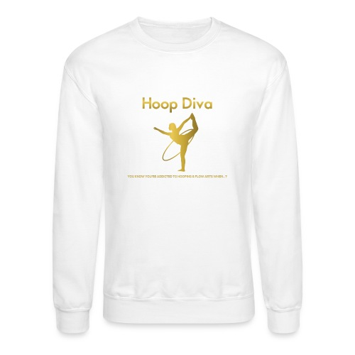 Hoop Diva 2 - Unisex Crewneck Sweatshirt