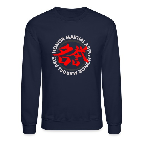 Honor Martial Arts Kanji Design Light Shirts - Crewneck Sweatshirt