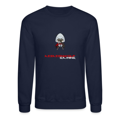 heather gray assassinwolf Tee - Crewneck Sweatshirt
