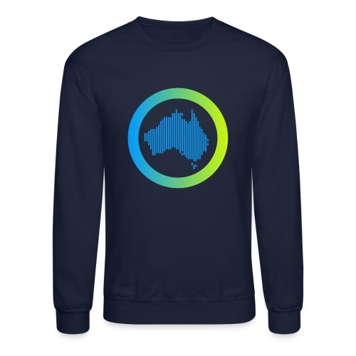 Gradient Symbol Only - Unisex Crewneck Sweatshirt