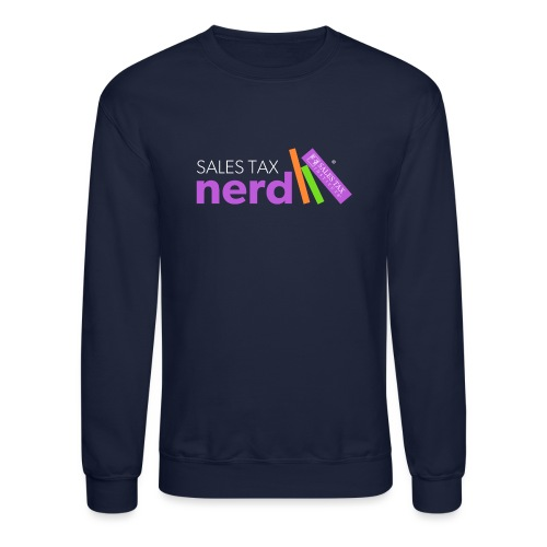 Sales Tax Nerd - Unisex Crewneck Sweatshirt