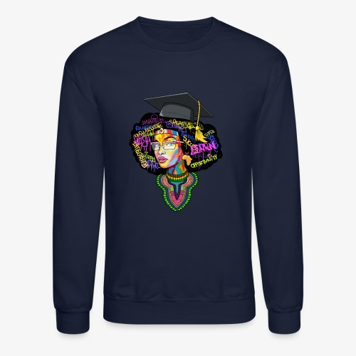 Smart Black Woman - Crewneck Sweatshirt