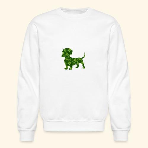 PUFFY DOG - PRESENT FOR SMOKING DOGLOVER - Crewneck Sweatshirt