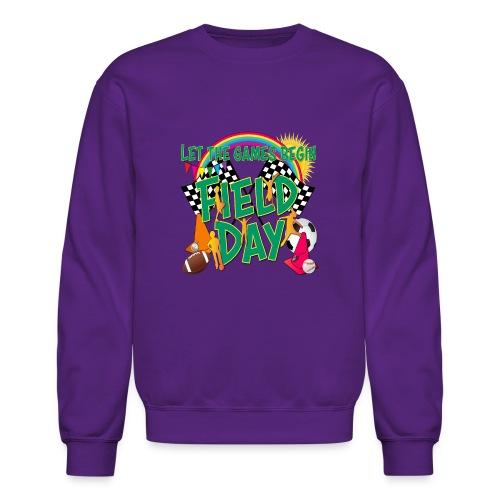 Field Day Games for SCHOOL - Crewneck Sweatshirt