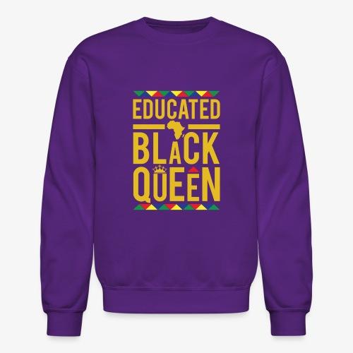 Educated Black Queen - Crewneck Sweatshirt