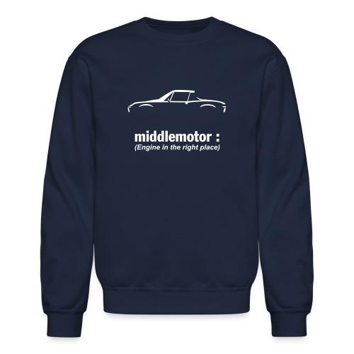 middlemotor - Crewneck Sweatshirt
