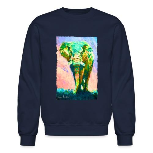 Radiating Strength and Po - Crewneck Sweatshirt