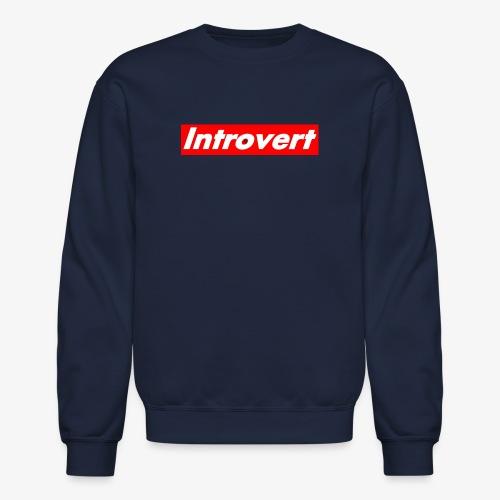 Introvert - Unisex Crewneck Sweatshirt