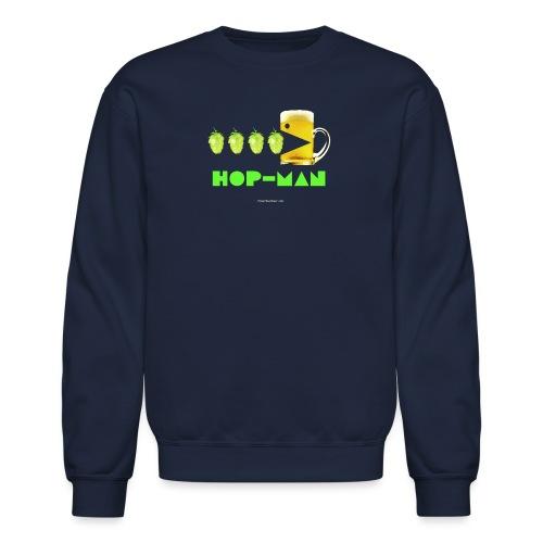 Hop Man Women's Long Sleeve T-Shirt - Crewneck Sweatshirt