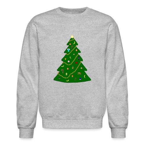 Christmas Tree For Monkey - Crewneck Sweatshirt