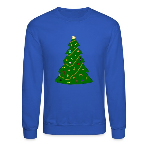 Christmas Tree For Monkey - Crewneck Sweatshirt