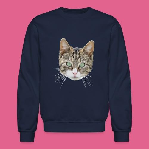 cathead color Edited - Crewneck Sweatshirt