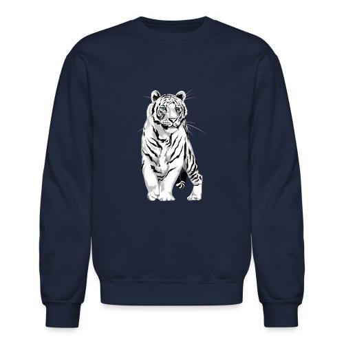 Stately White Tiger - Crewneck Sweatshirt
