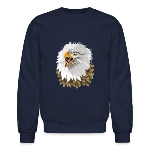 Big, Bold Eagle - Unisex Crewneck Sweatshirt