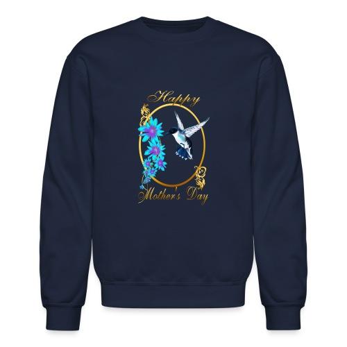 Mother's Day with humming birds - Crewneck Sweatshirt