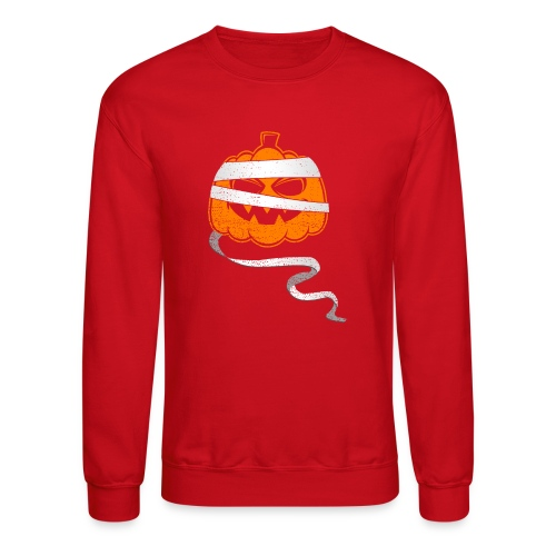Halloween Bandaged Pumpkin - Crewneck Sweatshirt