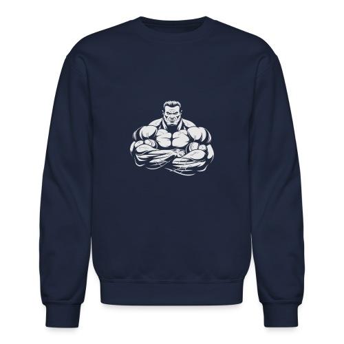 An Angry Bodybuilding Coach - Crewneck Sweatshirt
