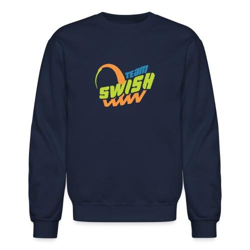 TeamSwish logo2 20 - Unisex Crewneck Sweatshirt