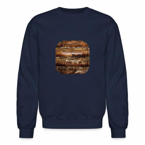 "InovativObsesion ""LOGGED IN"" apparel - Crewneck Sweatshirt"