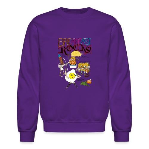 Breakfast Rocks! - Crewneck Sweatshirt