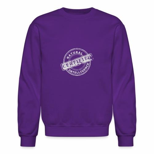 Natural Intelligence inside - Crewneck Sweatshirt