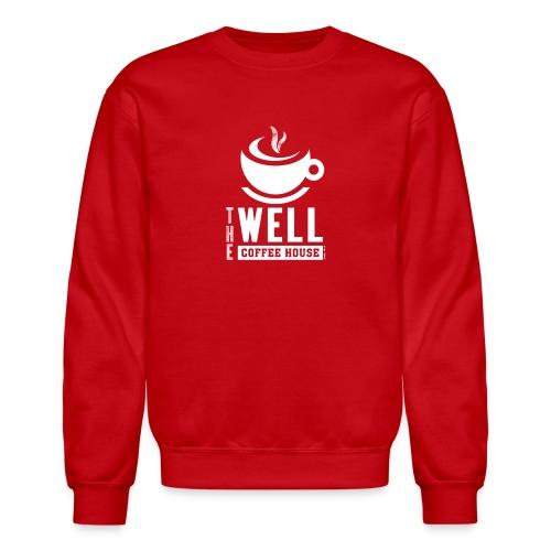TWCH Verse White - Unisex Crewneck Sweatshirt