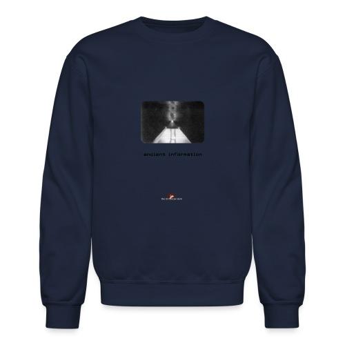 'Ancient Information' - Crewneck Sweatshirt