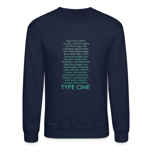 The Inspire Collection - Type One - Green - Crewneck Sweatshirt