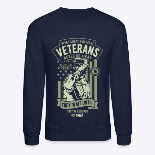 US Army Veterans - Crewneck Sweatshirt