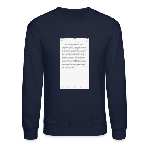 Text from a Football Commit - Crewneck Sweatshirt