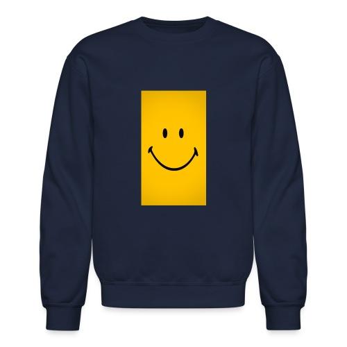 Smiley face - Crewneck Sweatshirt
