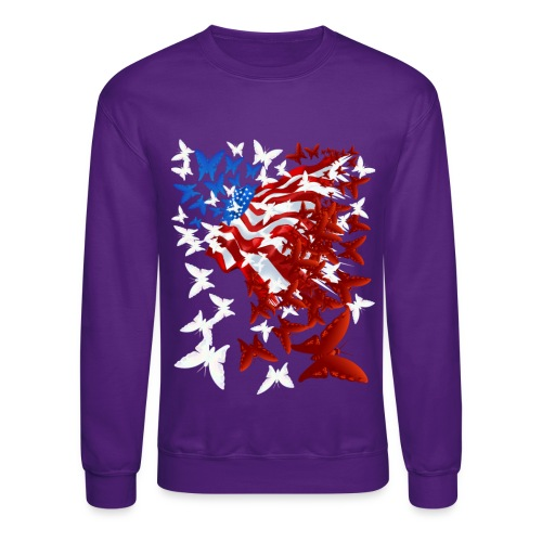 The Butterfly Flag - Crewneck Sweatshirt