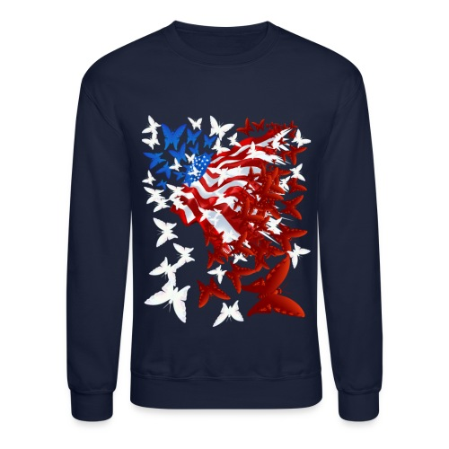 The Butterfly Flag - Crewneck Sweatshirt