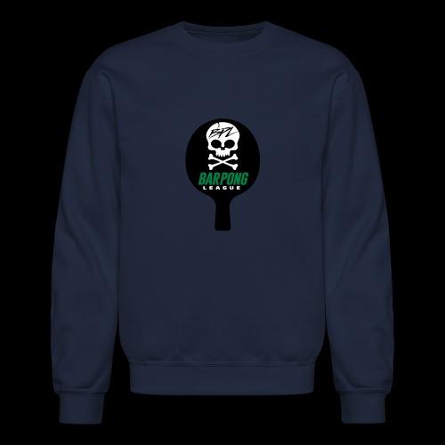 Bar Pong Paddle Logo - Crewneck Sweatshirt