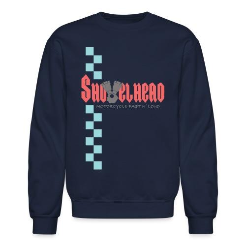 Shovelhead Race - Motorcycle Fast N`Loud - Unisex Crewneck Sweatshirt
