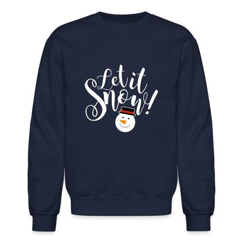 Let It Snow - Holiday Design - Unisex Crewneck Sweatshirt