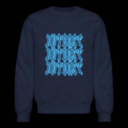 outcast x3 blue - Unisex Crewneck Sweatshirt
