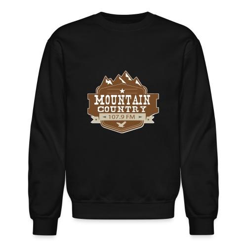 Mountain Country 107.9 - Unisex Crewneck Sweatshirt