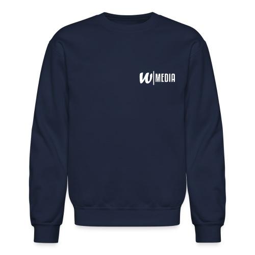 Long Sleeve WRLD Media Sweatshirt - Crewneck Sweatshirt